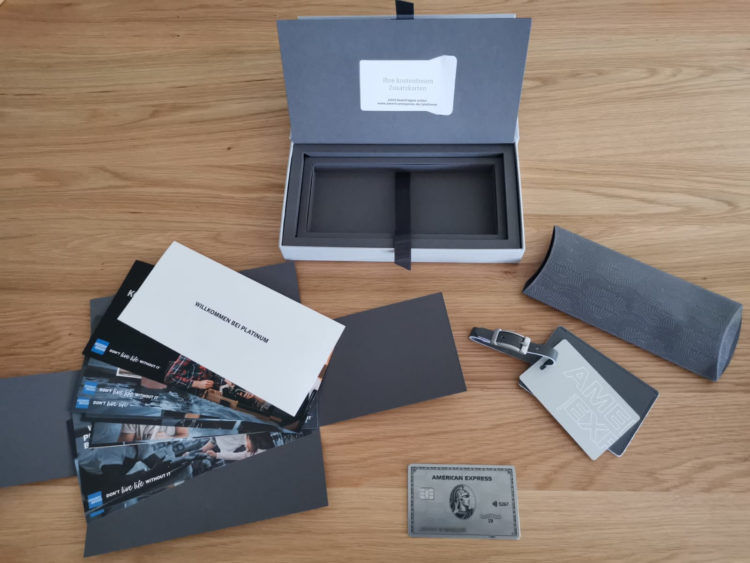 american express platinum metall willkommenspaket 3