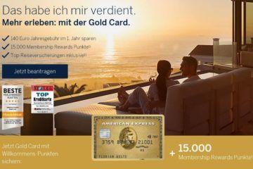 american express gold kreditkarte punkte