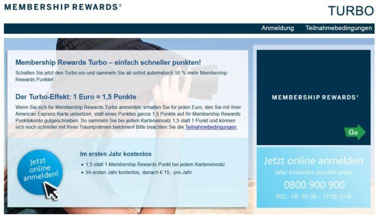 american express membership rewards turbo oesterreich