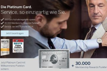 american express platinum kreditkarte punkte