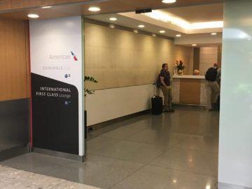 americanairlines lounge londonheathrow eingangsbereich