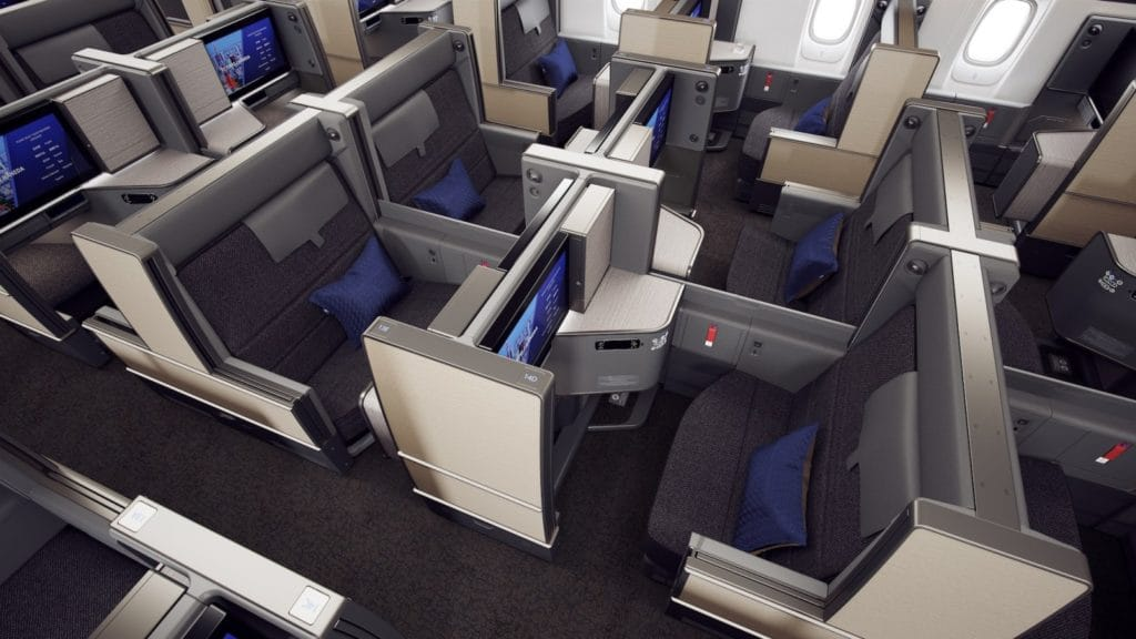 "Die neue ANA Business Class ""THE Room"" an Bord der 777-300ER © ANA"
