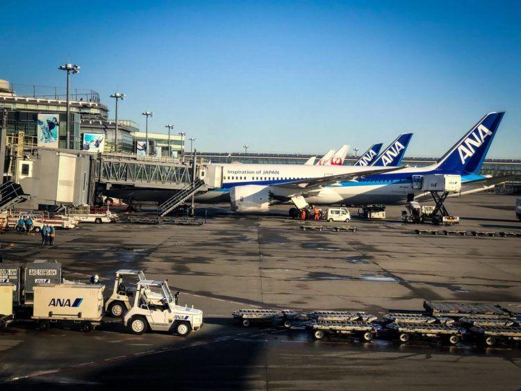 ana business class boeing 777 300 ankunftsgate