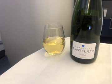ana business class boeing 777 300 champagne