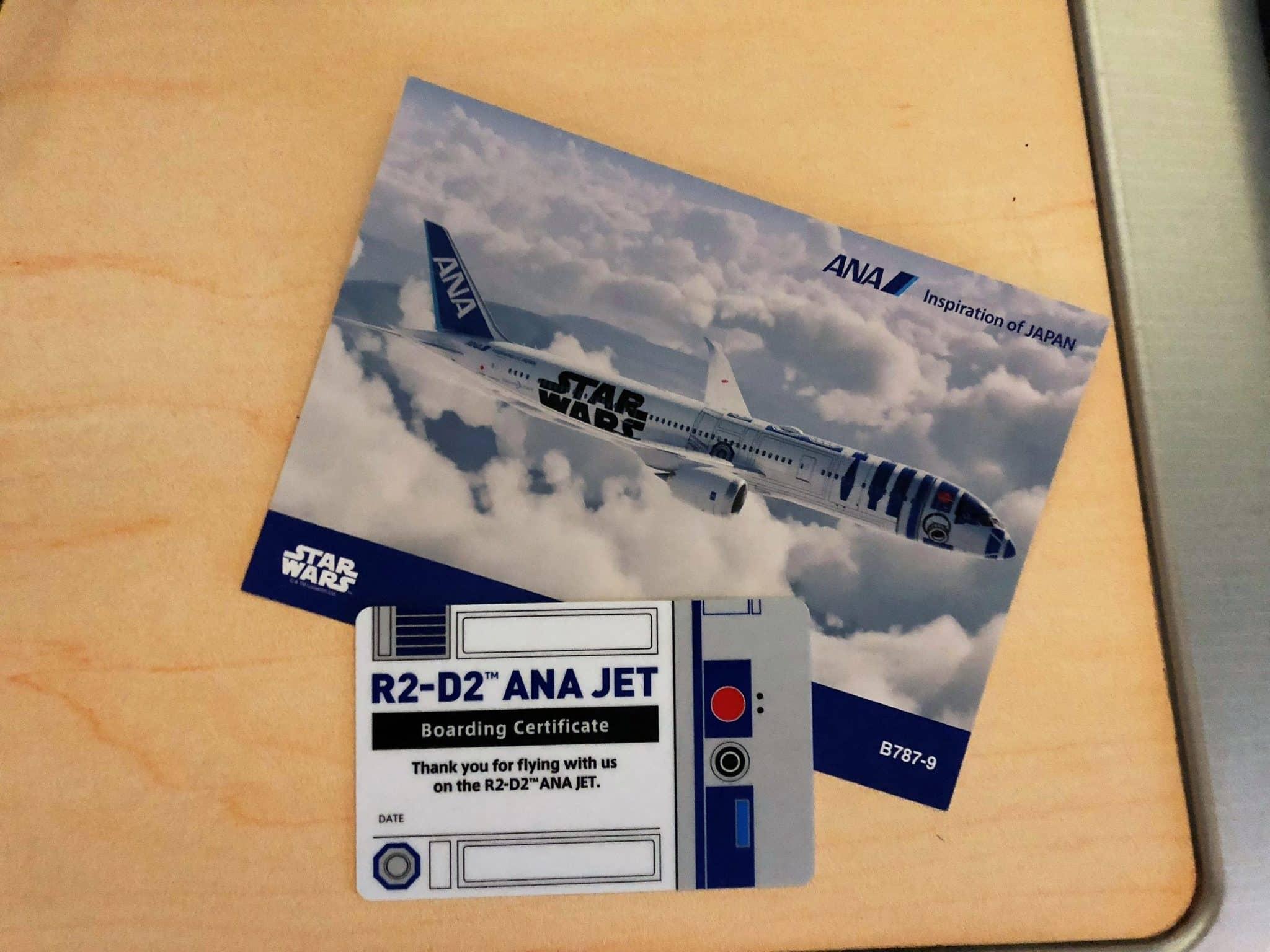 ana business class b787 9 boarding zertifikat