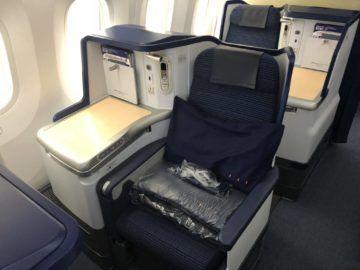 ana business class b787 9 sitz ohne direktem fenster