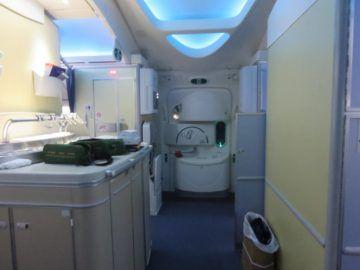 ana business class boeing 787 bar