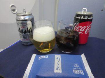 ana business class boeing 787 getraenke