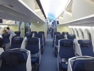 ana business class boeing 787 kabine 1