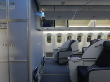 ana business class boeing 787 kabine 3