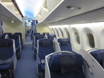 ana business class boeing 787 kabine 4