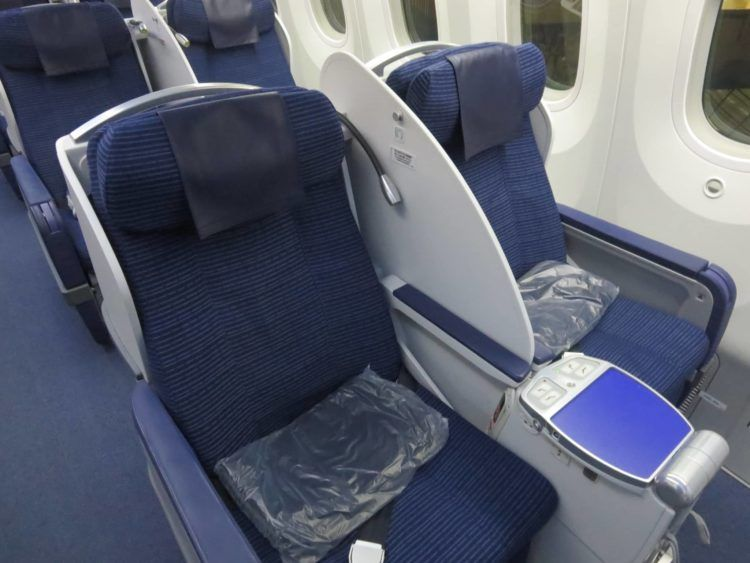 ana business class boeing 787 kabine 6