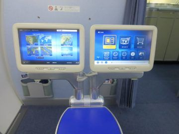 ana business class boeing 787 monitor 1