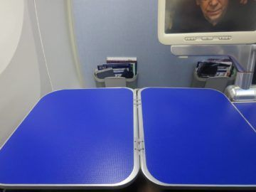 ana business class boeing 787 tisch 1