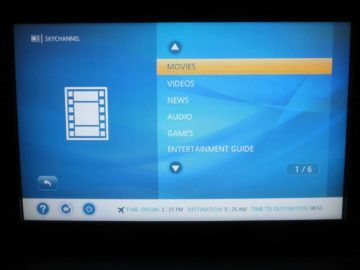 ana first class boeing 777 300er entertainment system 2