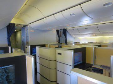 ana first class boeing 777 300er kabine 1
