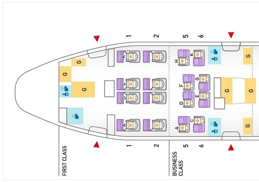 ana first class boeing 777 seatmap