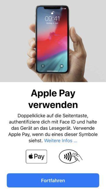 apple pay meilen sammeln 2