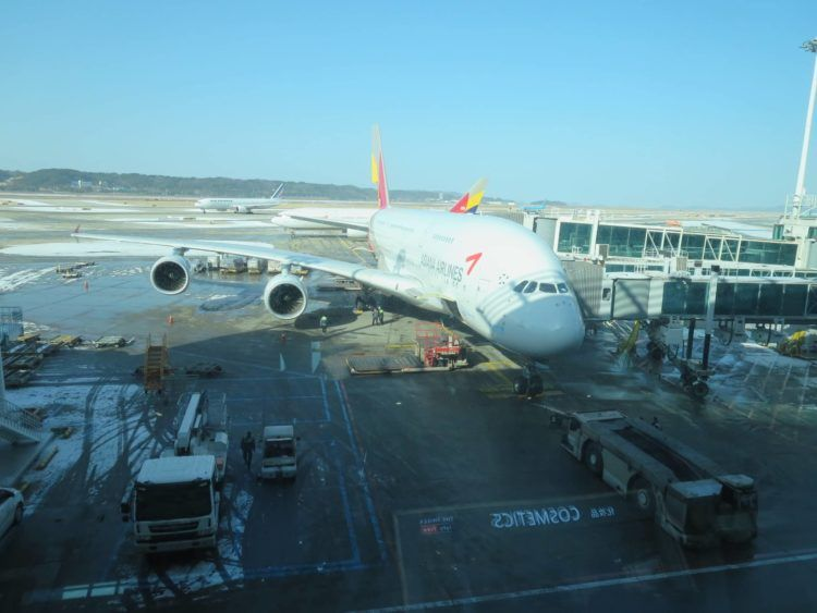 asiana a380 seoul incheon