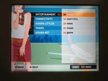 asiana business class smartium boeing 777 entertainment 2