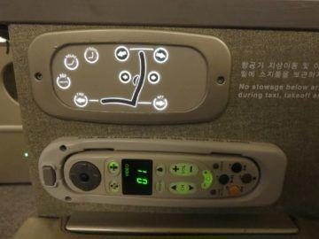 asiana business class smartium boeing 777 fernbedienung