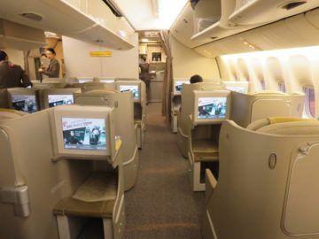 asiana business class smartium boeing 777 kabine 3