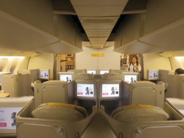 asiana business class smartium boeing 777 kabine 5