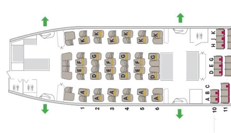asiana business class smartium boeing 777 seatmap