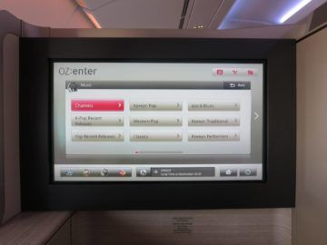 asiana first class a380 entertainment system 4