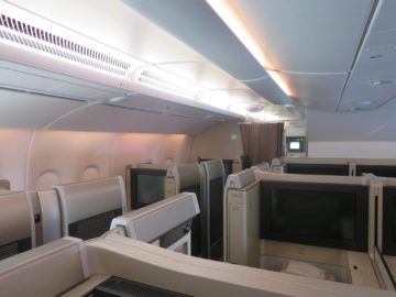 asiana first class a380 kabine 1