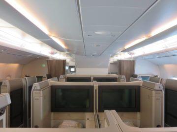 asiana first class a380 kabine 2