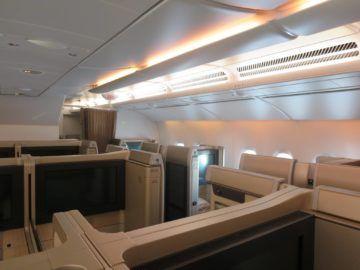 asiana first class a380 kabine 3