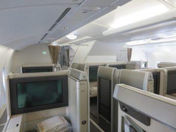 asiana first class a380 kabine 4b