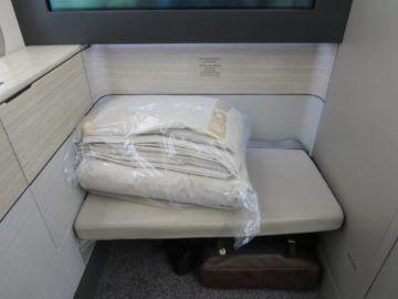 asiana first class a380 sitz fussraum 1