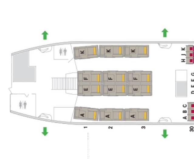 asiana first class a380 sitzplan