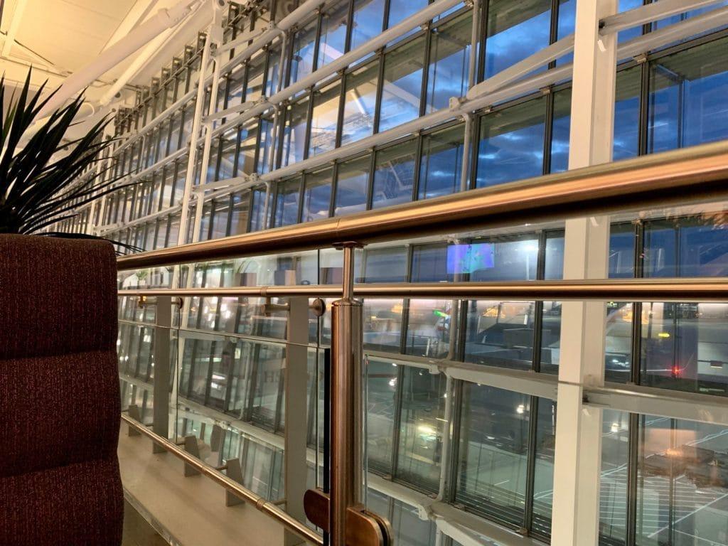 Aspire Lounge London Heathrow Terminal 5 Blick