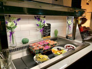 aspire lounge london heathrow terminal 5 buffet 1