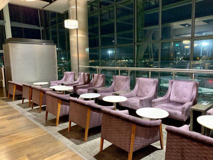 aspire lounge london heathrow terminal 5 sessel