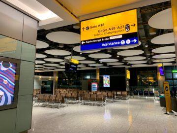 aspire lounge london heathrow terminal 5 wegweiser 2