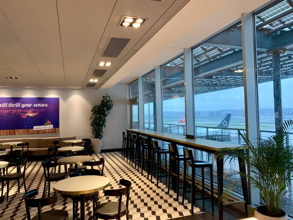 Aspire Lounge Zürich E