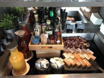austrian airlines business class lounge wien terminal d kuchen saefte