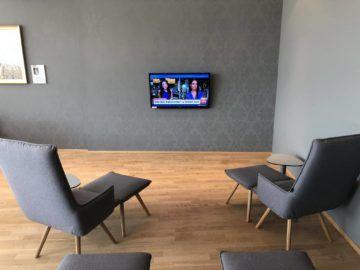 austrian airlines business class lounge wien terminal d liegesessel