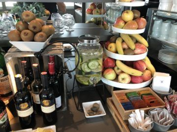 austrian airlines business class lounge wien terminal d obst wein