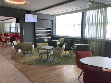 austrian airlines business class lounge wien terminal d sitzmoeglichkeiten