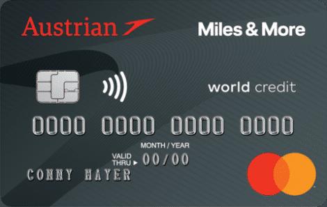 austrian miles and more mastercard platinum kreditkarte at