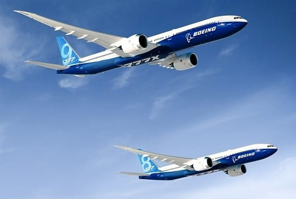boeing 777 8 777 9 777 x flugzeug