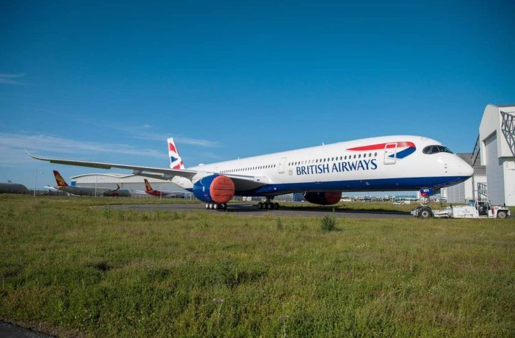 british airways a350 1000 flugzeug copyright