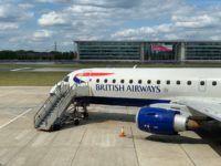 british airways embraer 190 flugzeug london city airport 2