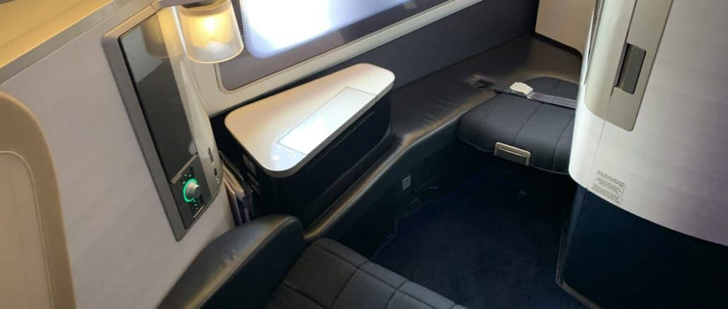 british airways first class boeing 777 sitz