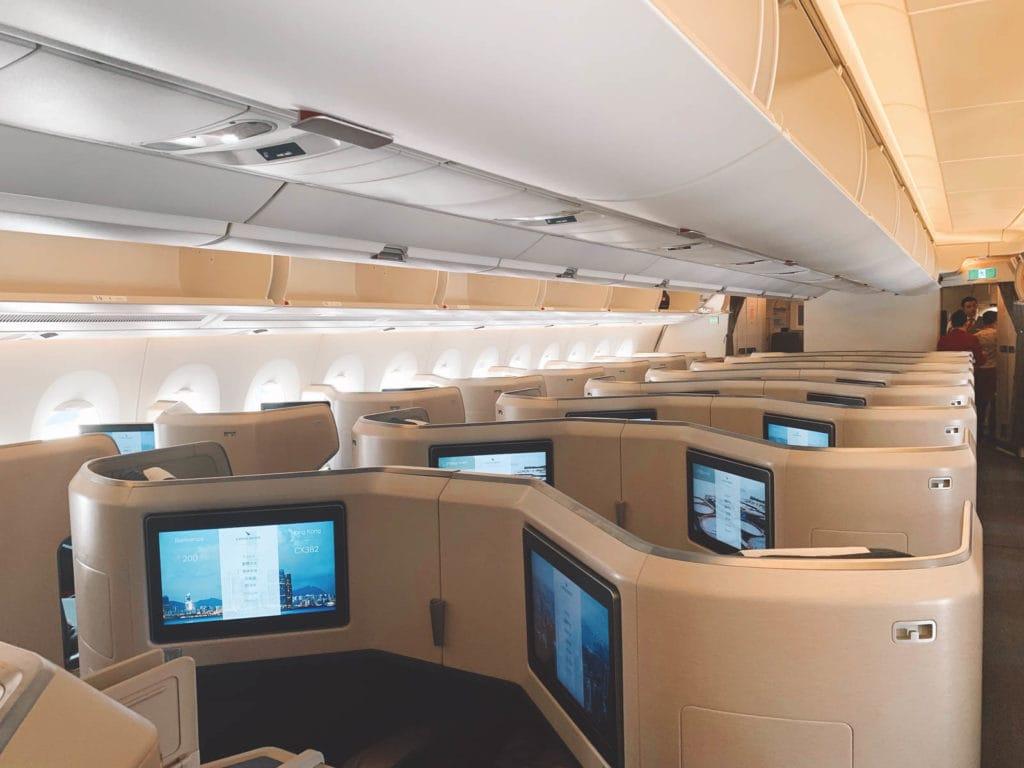 A350-1000 Business Class Kabine